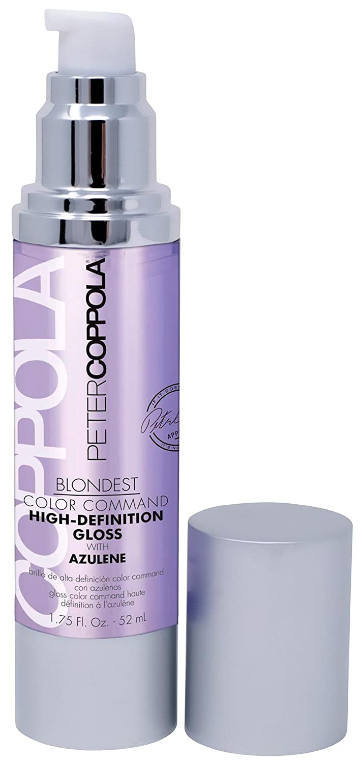 Peter Coppola: Blondest Color Command High Definition Brightening & Repairing Gloss with Azulene, 1.75oz