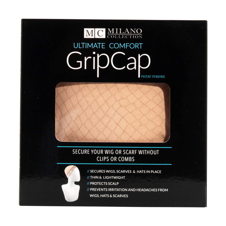 gripcap por Milano colección All-in-1 wigrip comodidad banda y peluca en marrón: Amazon.es: Belleza