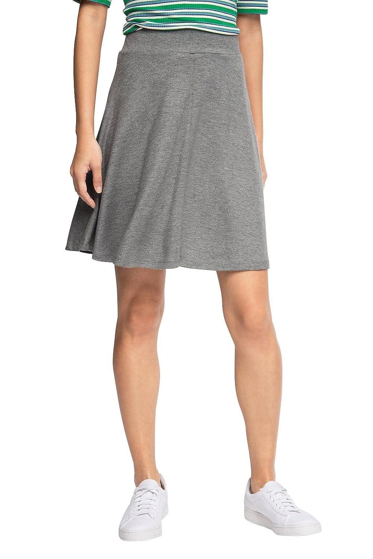 ESPRIT Women's 056ee1d010-Stretch Skirt