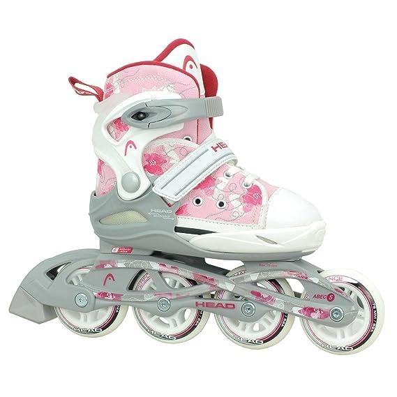 HEAD - Kinder Inlineskates I verstellbar I 6 Größen I Rollerskates für Kinder I ideal für Anfänger I komfortable Skates I Inl