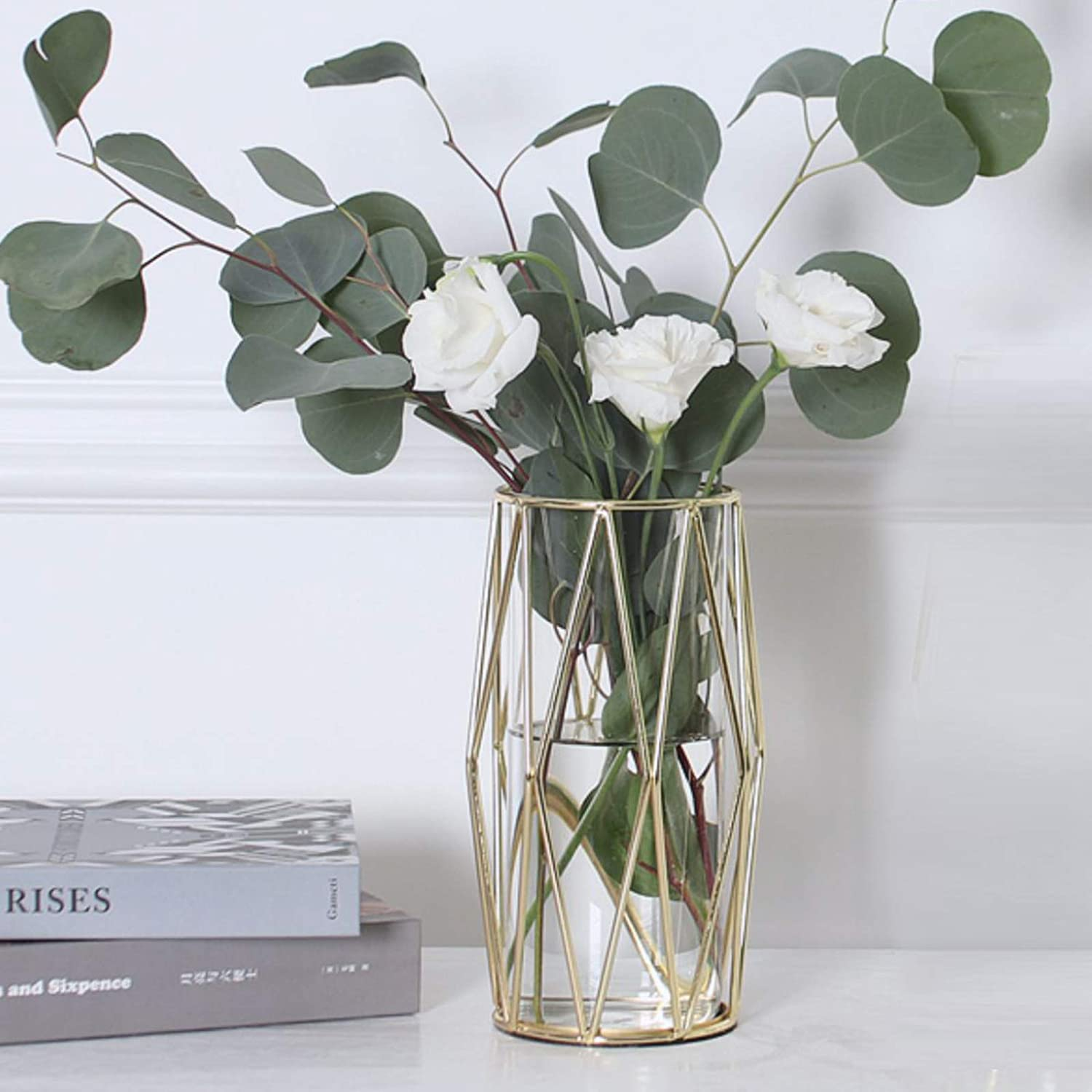 One of the most thoughtful gift ideas for women over 40 is a glass vase that looks beautiful placed anywhere with sweet-smelling flowers in it. This peculiar gift will leave her smiling every time she looks at it.
