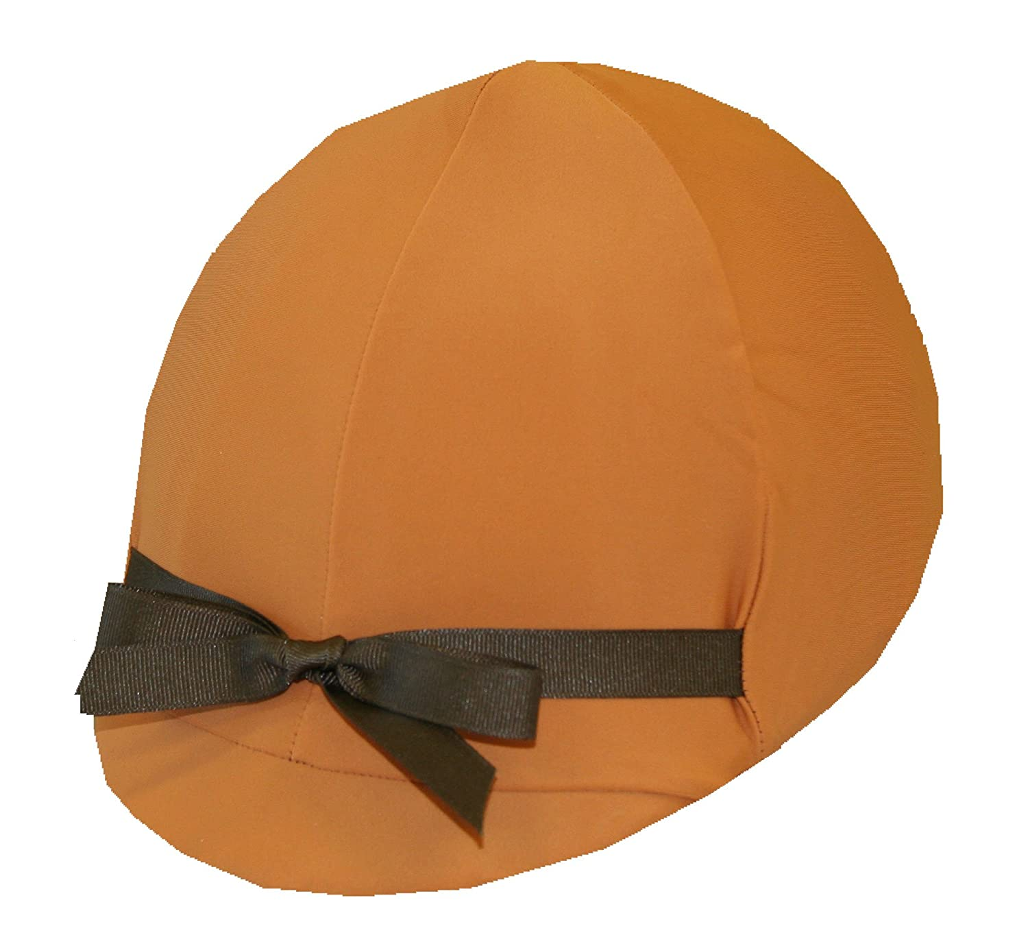 Equestrian Riding Helmet Cover - Rust Helmet Covers Etc.