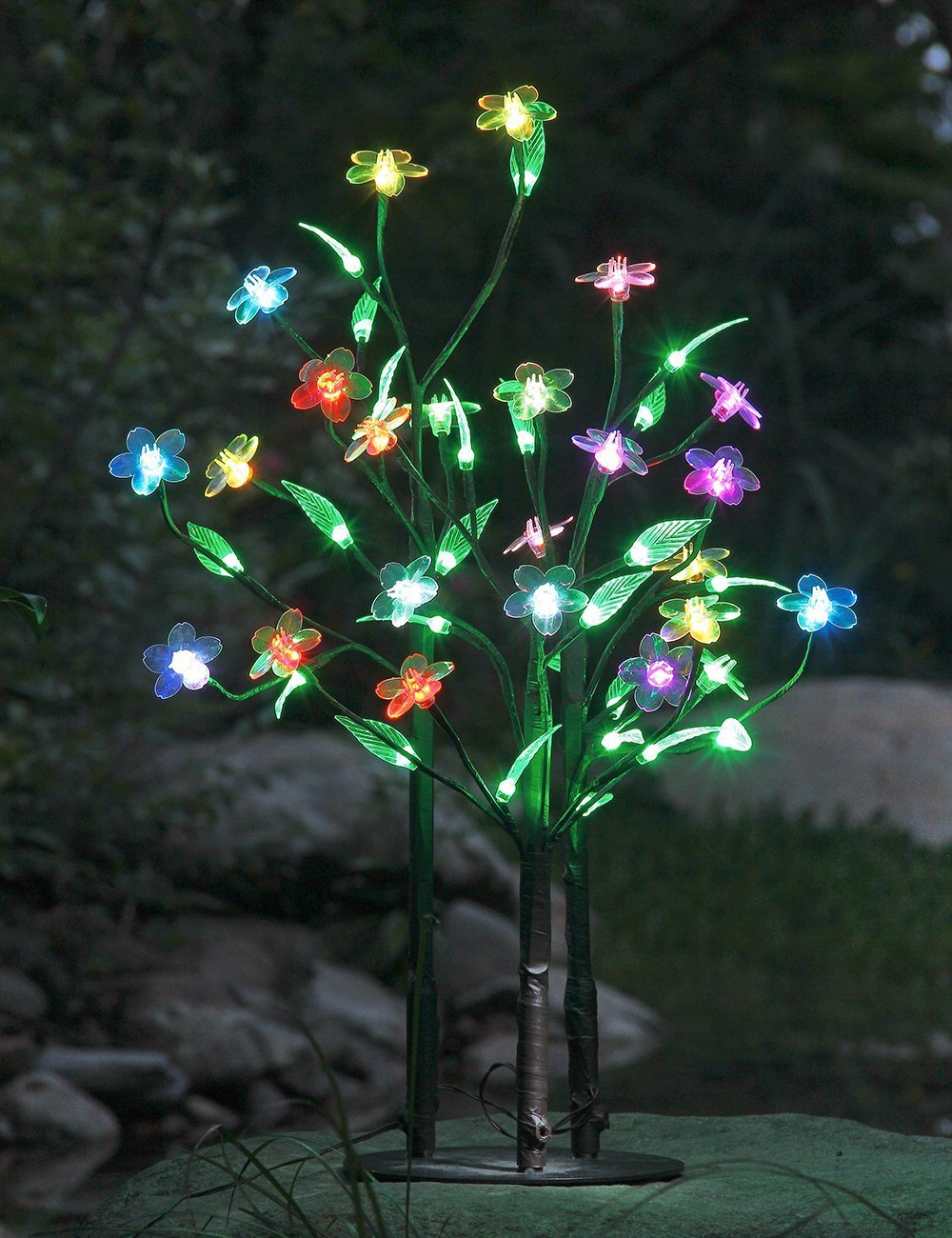 Amazon.com: Lightshare™ NEW 3Ft 48LED Color Changing Flower Tree ...