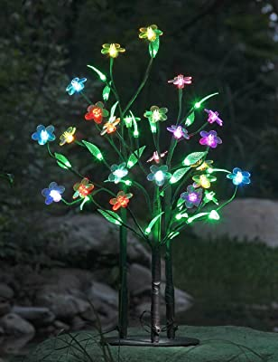 LightshareTM NEW 3Ft 48LED Color Changing Flower Tree Light