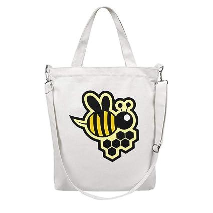 562addf4e581 Amazon.com: 12.5X15 Inches Cute Zip Stylish Canvas Large Tote Bag ...