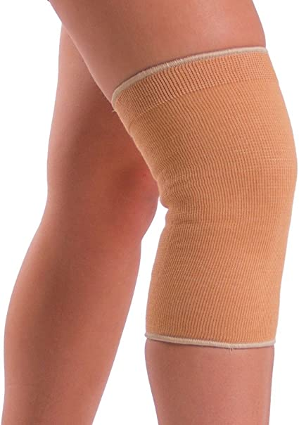Amazon Com Braceability Plus Size Elastic Slip On Knee Sleeve