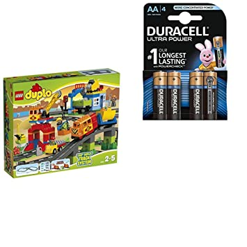 günstig kaufen LEGO Duplo Eisenbahn Super Set 10508