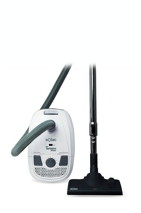 Solac AB2721 - Aspirador New Springtec, 325 W, 1800 W, Electrónico, 2.5 L