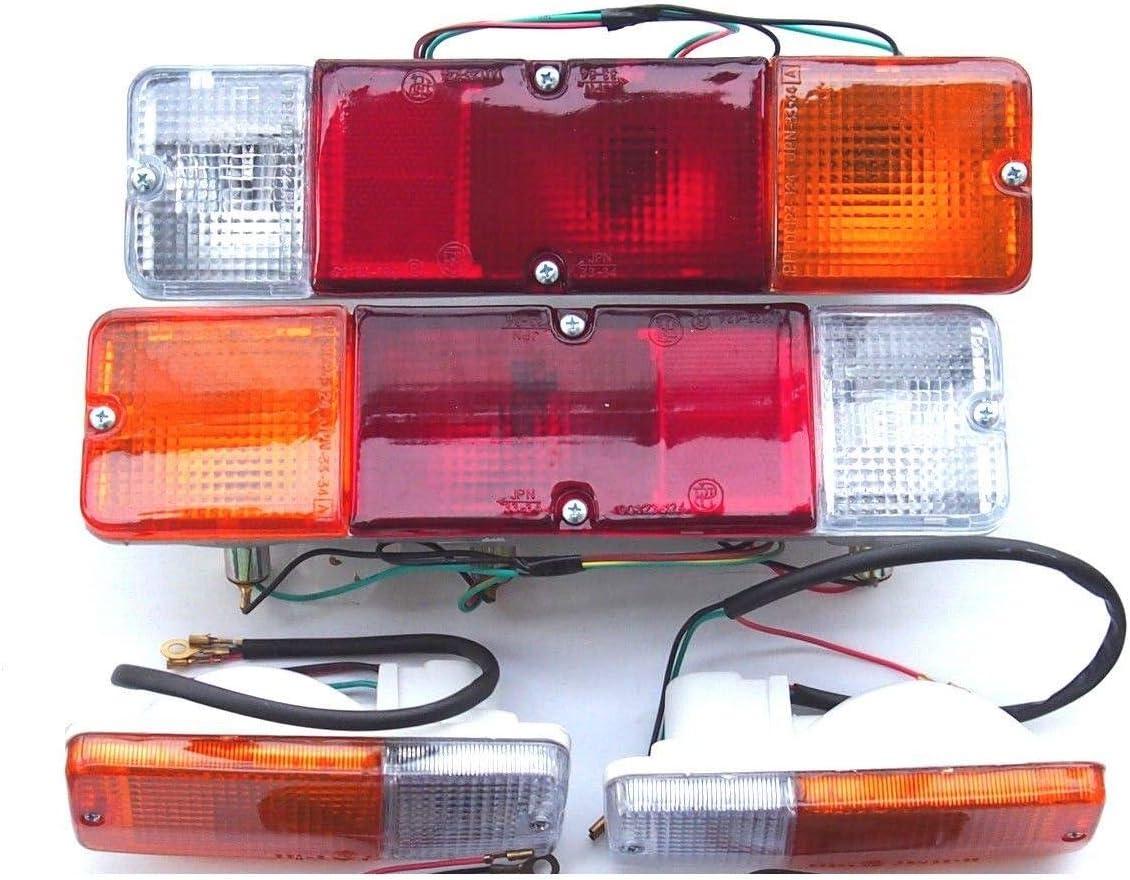 Luces traseras delanteras izquierda y derecha un juego indicadores de se/ñal de giro delantero