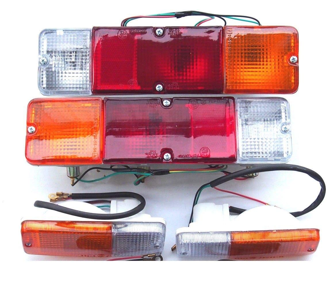anteriore indicatori di direzione segnale One set Lato anteriore sinistro e destro luce posteriore