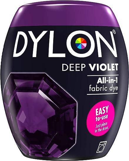 Dylon Máquina Dye Pod 350 g, Color Violeta