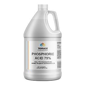Phosphoric Acid 75%, Food Grade (1-Gallon)