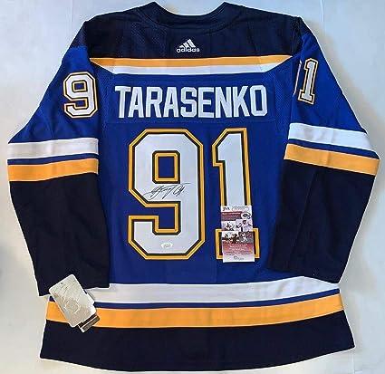 new products 34be0 1ff61 Signed Vladimir Tarasenko Jersey - Adidas Adizero - JSA ...