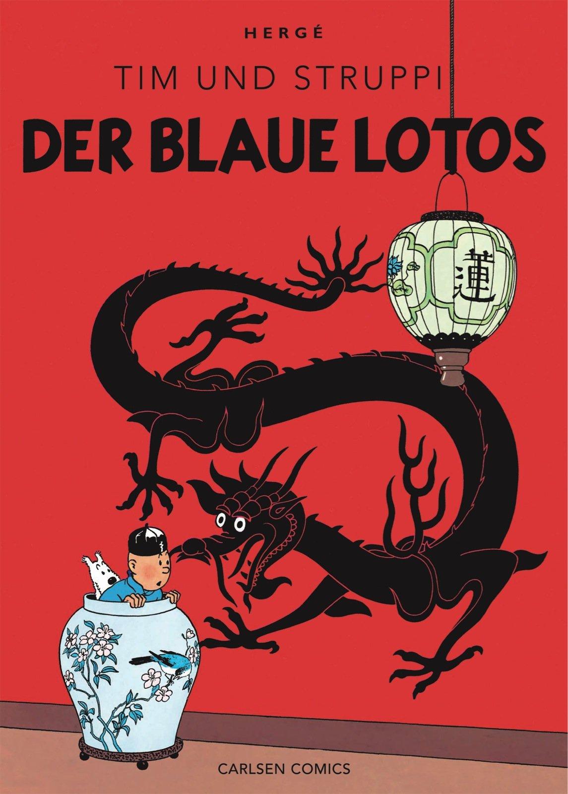 Tim & Struppi Farbfaksimile, Band 4: Der blaue Lotos