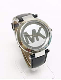 Michael Kors Silver Tone Logo Womens Watch