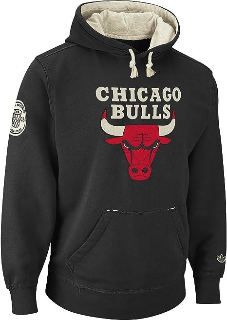 Categoría Departamento Pensionista  adidas Chicago Bulls Vintage Springfield Fleece Pullover Sweatshirt:  Amazon.co.uk: Sports & Outdoors