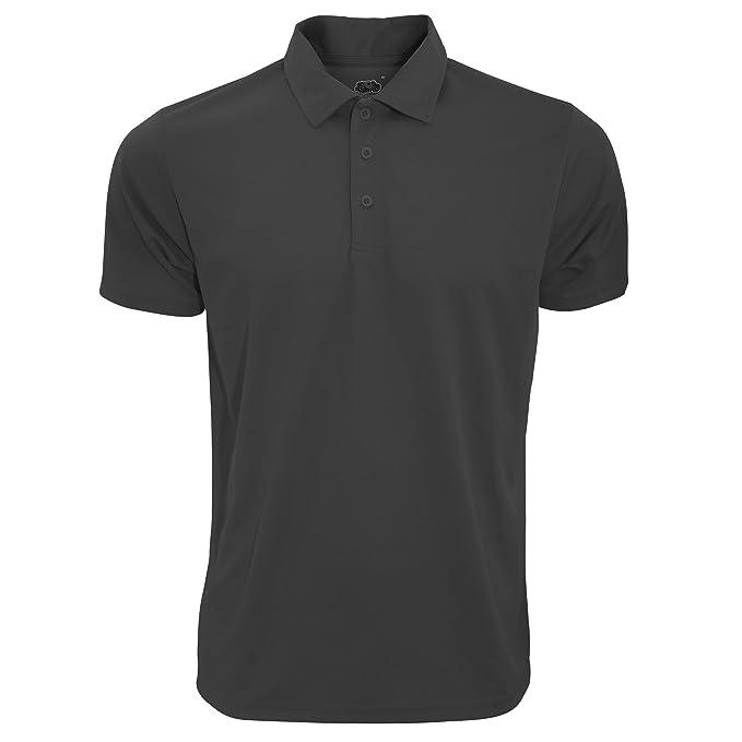 Fruit of the Loom Mens Moisture Wicking Short Sleeve Performance Polo Shirt  (3XL) (