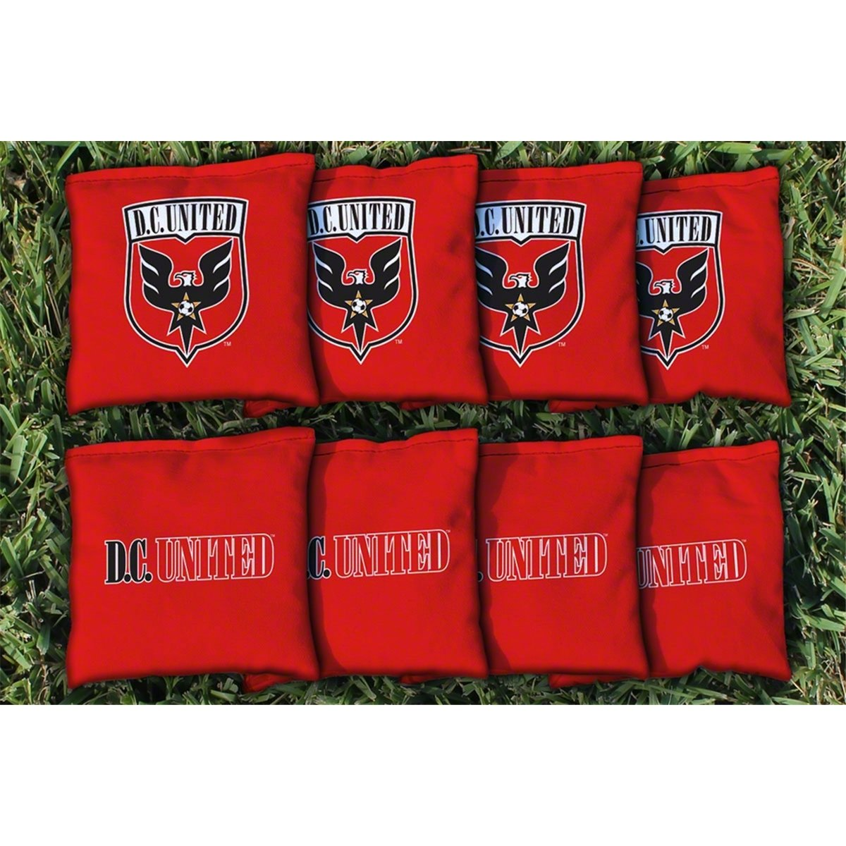 MLS交換Corn Filled Cornhole Bag Set MLSチーム: DC United Game B00K2W8U8U