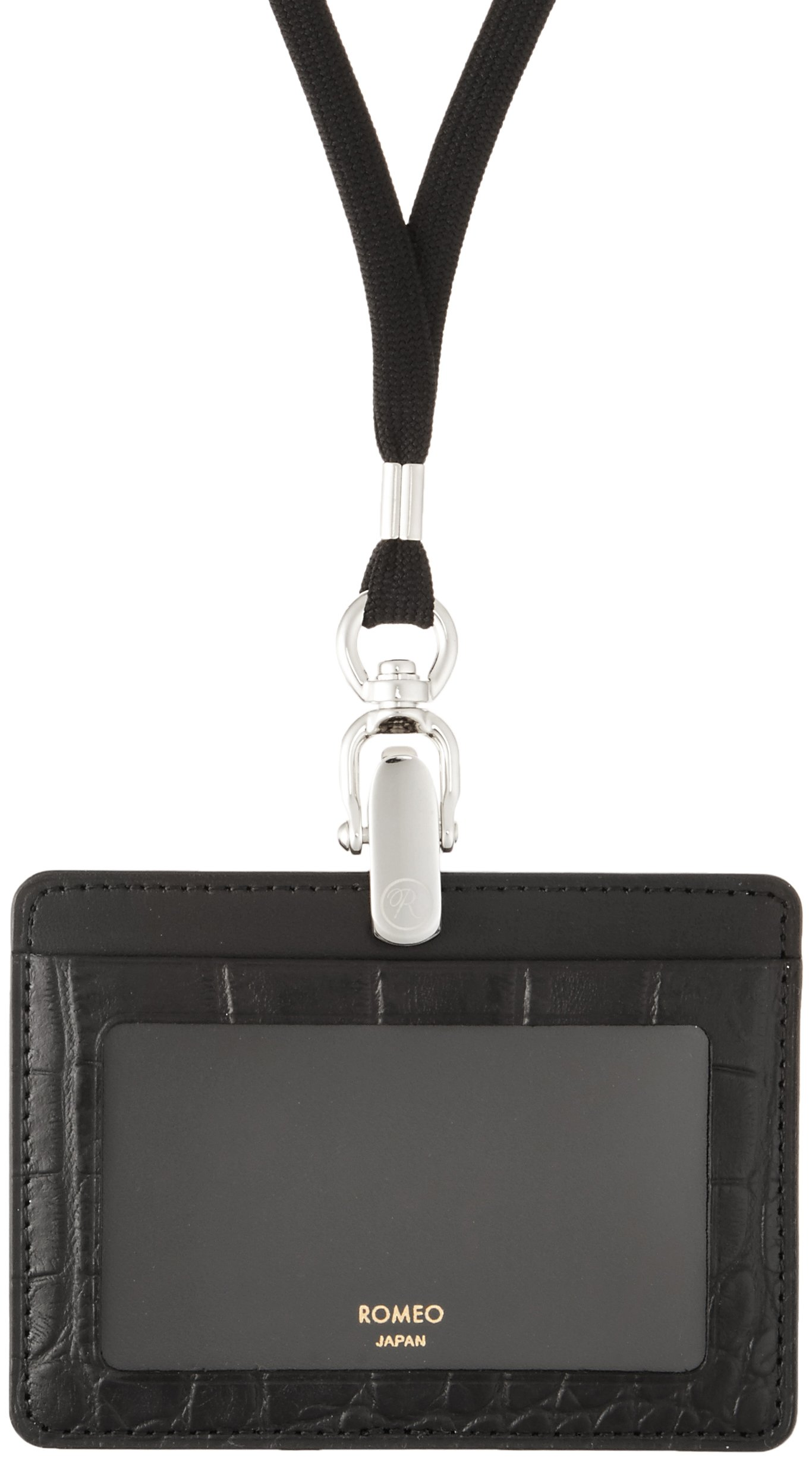 ITOYA Romeo Id Case With Jotter L / Crocodile Embossed Leather