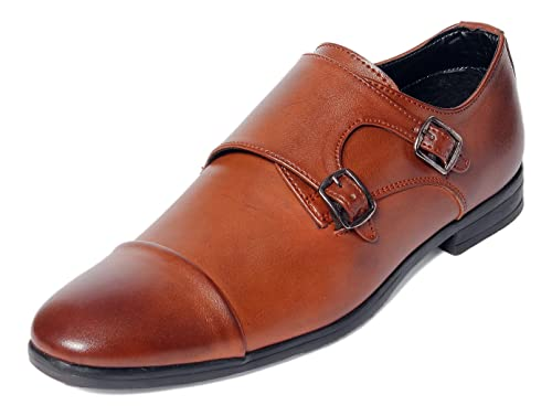 227d60996d1 Bacca Bucci Men s Tan Formal Shoes - 8 UK