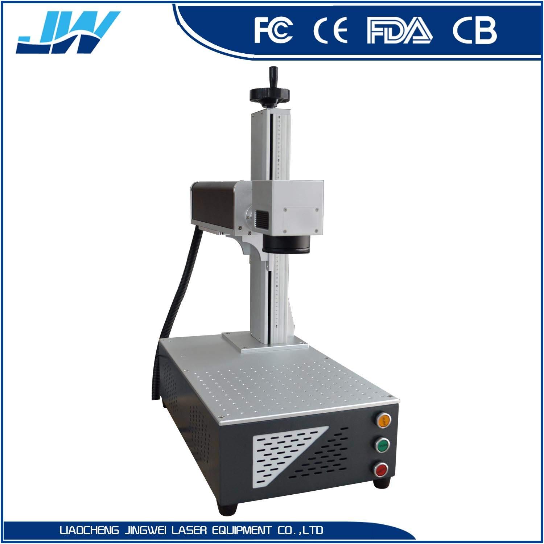 Raycus 30W Micro Fiber Laser Marking Machine for Phone Case Marking