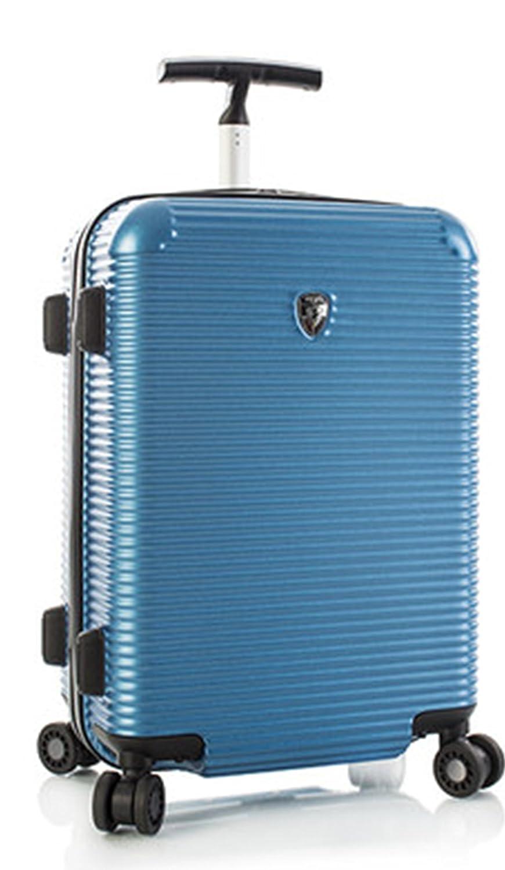 STARK REDUZIERT - 50% SALE - PREMIUM DESIGNER Hartschalen Koffer - Heys Crown Executive Shuttle Blau Handgepäck