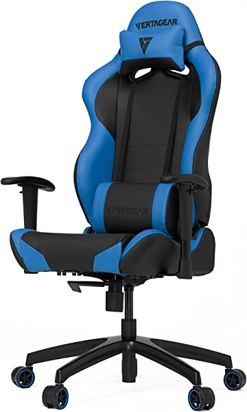 VERTAGEAR S-Line 2000 Gaming Chair, Medium, Black/Blue
