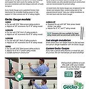 Pactool International Sa903 2 Piece Gecko Gauge Hardi Board Siding Gauges Amazon Ca Tools Amp Home Improvement
