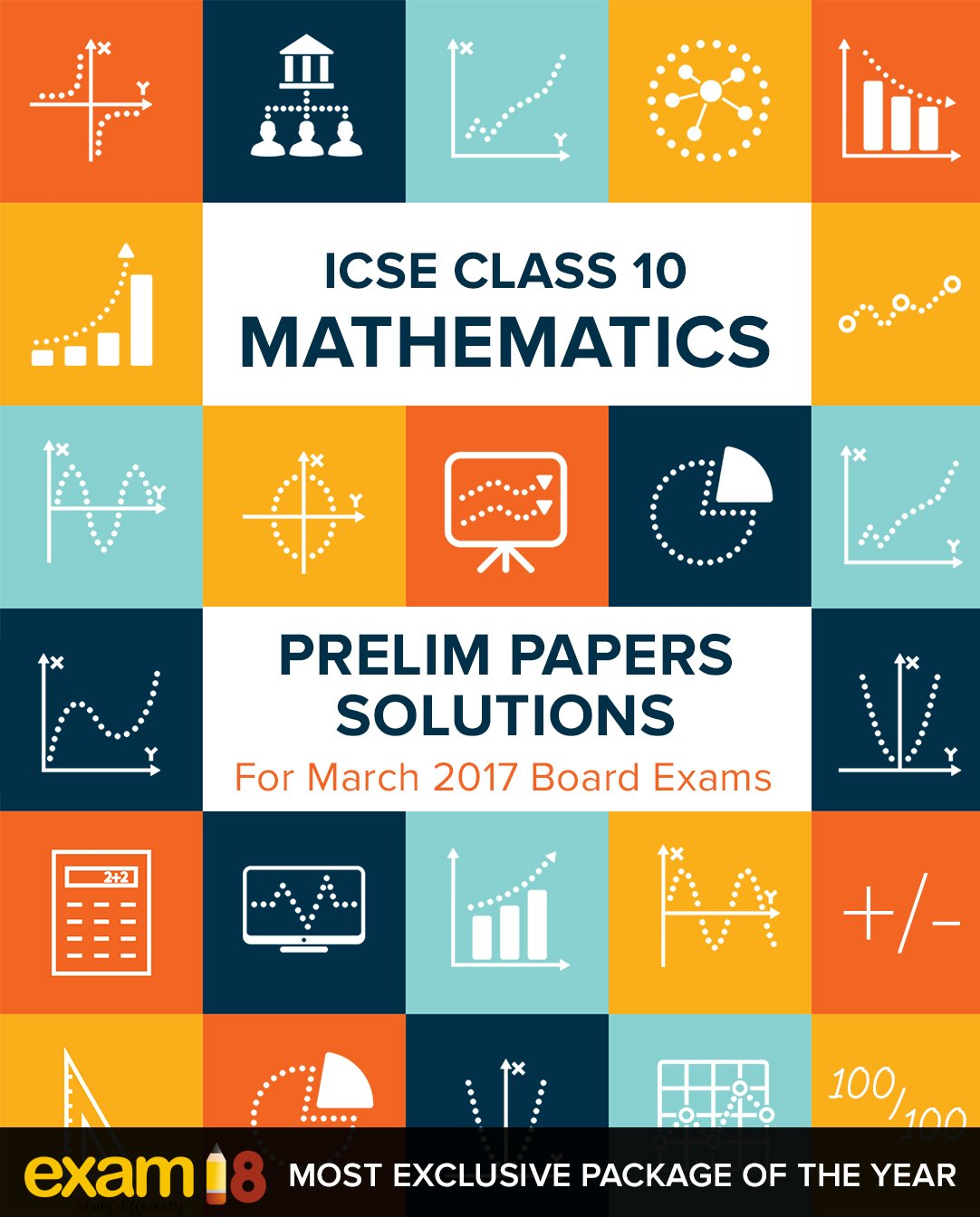 Amazon.in: Buy Exam18 ICSE Maths Prelim Papers Solutions for Class ...