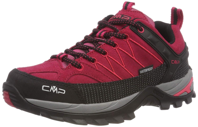 Rouge (Granita-corallo 72bm) 39 EU CMP Rigel Faible WP, Chaussures de Randonnée Basses Femme