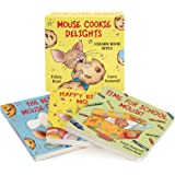 Mouse Cookie Delights: 3 Board Book Bites: The Best Mouse Cookie; Happy Birthday, Mouse!; Time for School, Mouse! (If You Giv