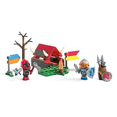 Mega Construx World Campground Battle Building Set: Toys & Games