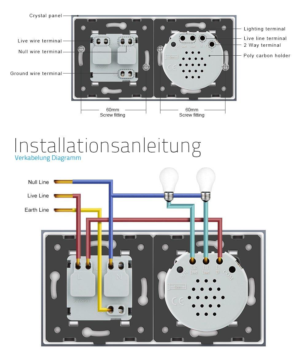 Ungewöhnlich Doppelpol Lichtschalter Diagramm Galerie - Die Besten ...