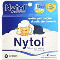 Nytol Antihistamínicos, 8 Tabletas