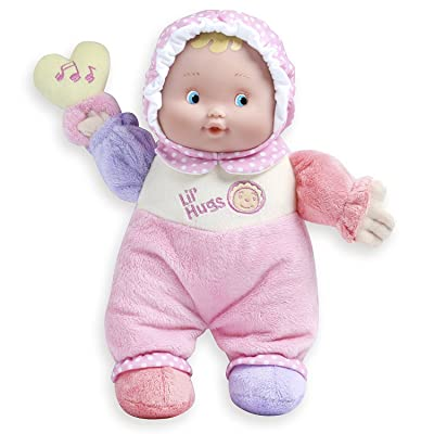 JC Toys Lil' Hugs Pink Soft Body - Your First Baby Doll – Designed by Berenguer – Ages 0+: Toys & Games