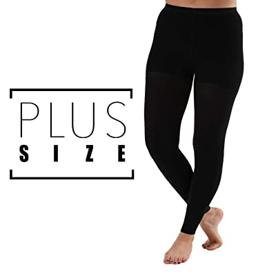 Absolute Support Opaque Graduated Compression Leggings Firm Support 20-30mmHg: Clothing