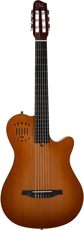 Godin multiac Grand, guitarra Duet ambiente (cuerdas de nailon ...