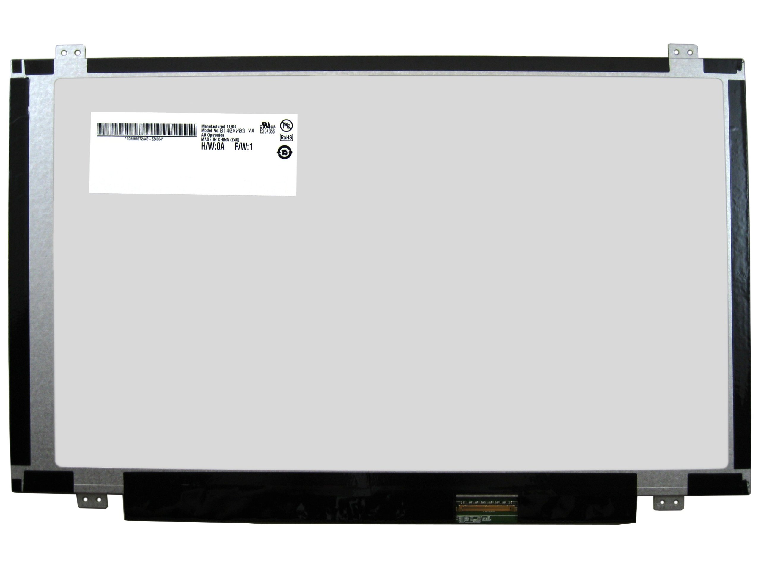 CMI N140BGE-L42 / N140BGE-LB2 New 14.0'' Slim Laptop LED LCD Screen with Glossy Finish and HD WXGA 1366 x 768 Resolution (or compatible model)