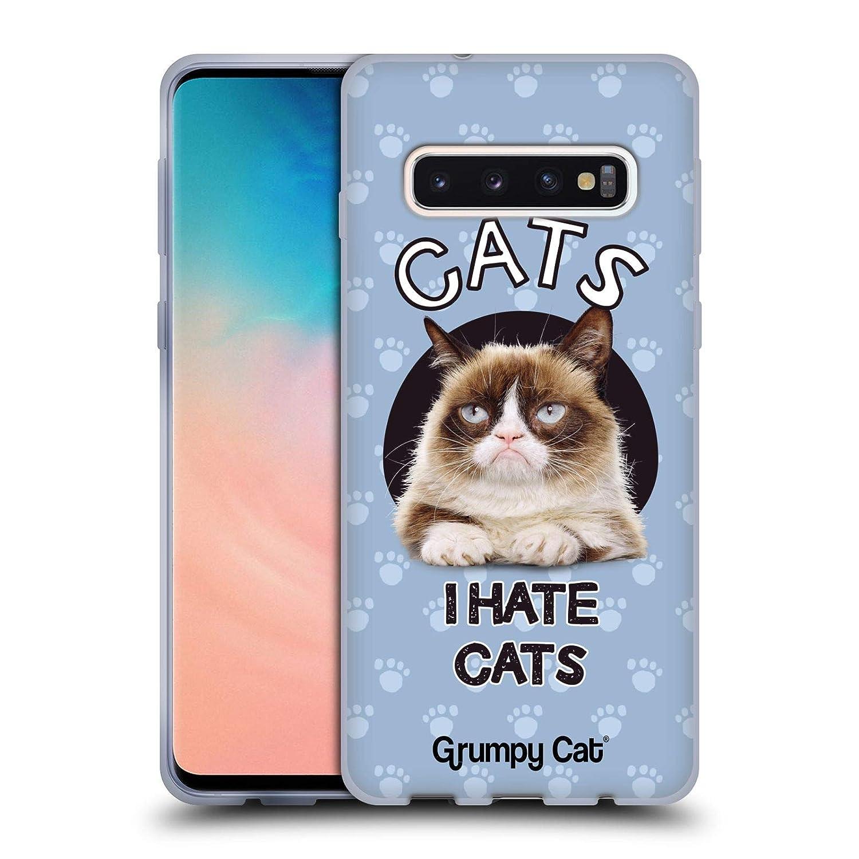 Amazon.com: Official Grumpy Cat Hate Quotes Soft Gel Case ...