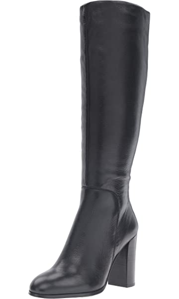 f30fa564725 Kenneth Cole New York Justin Leather High Heel Knee Boot