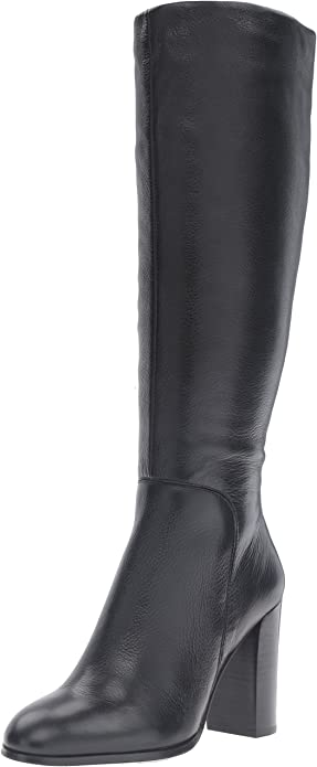 kenneth cole black leather boots