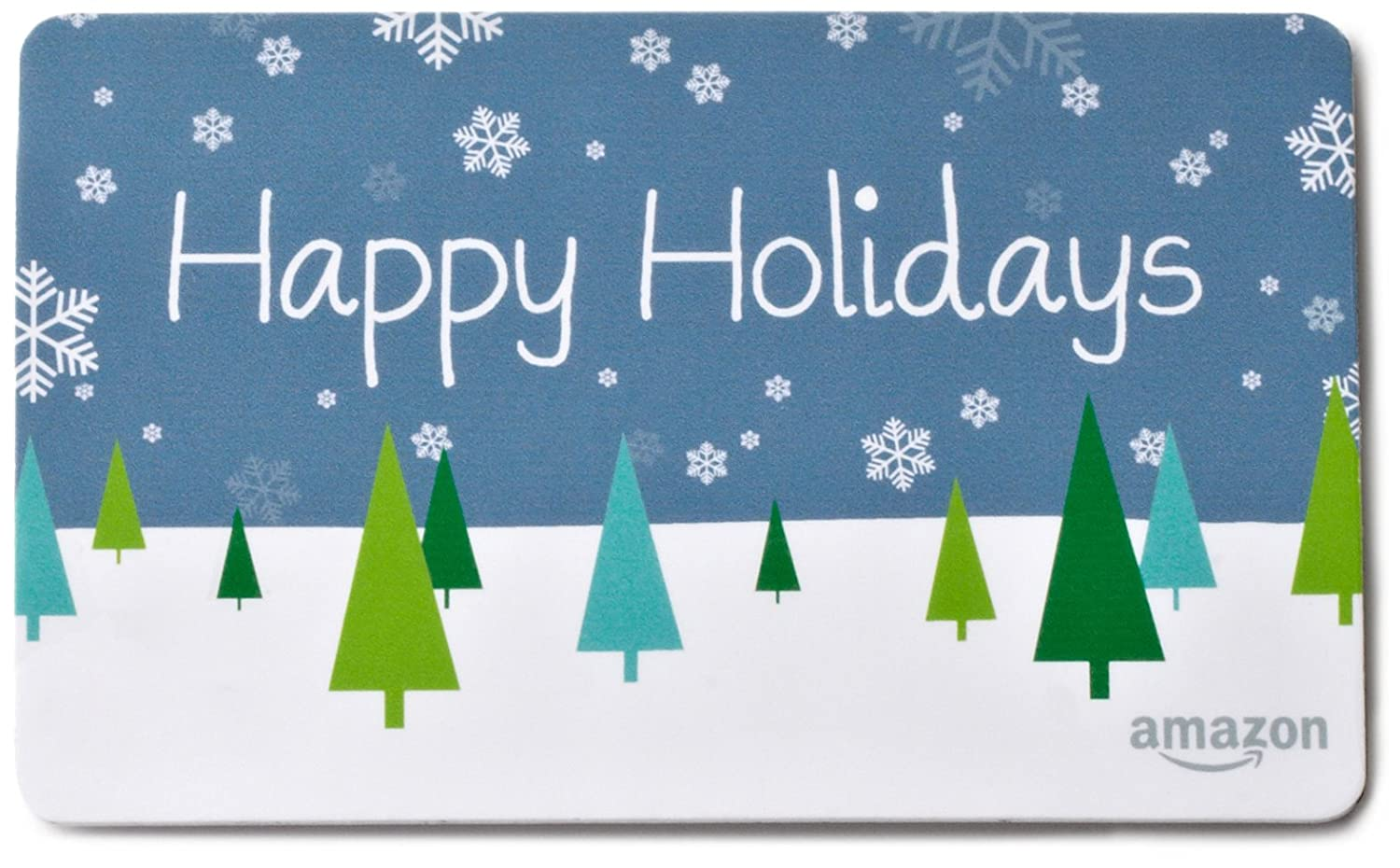 Pay outs as low as 1 for amazon gift card minimum of 10 for - Amazon Com Amazon Com Gift Card For Any Amount In A Snowflake Tin Happy Holidays Card Design Gift Cards