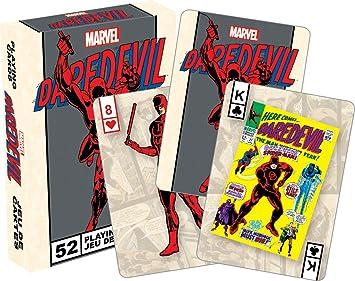 Aquarius Baraja de Cartas de Daredevil, de la Marca Marvel ...