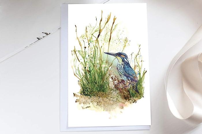 Kingfisher Birthday Card