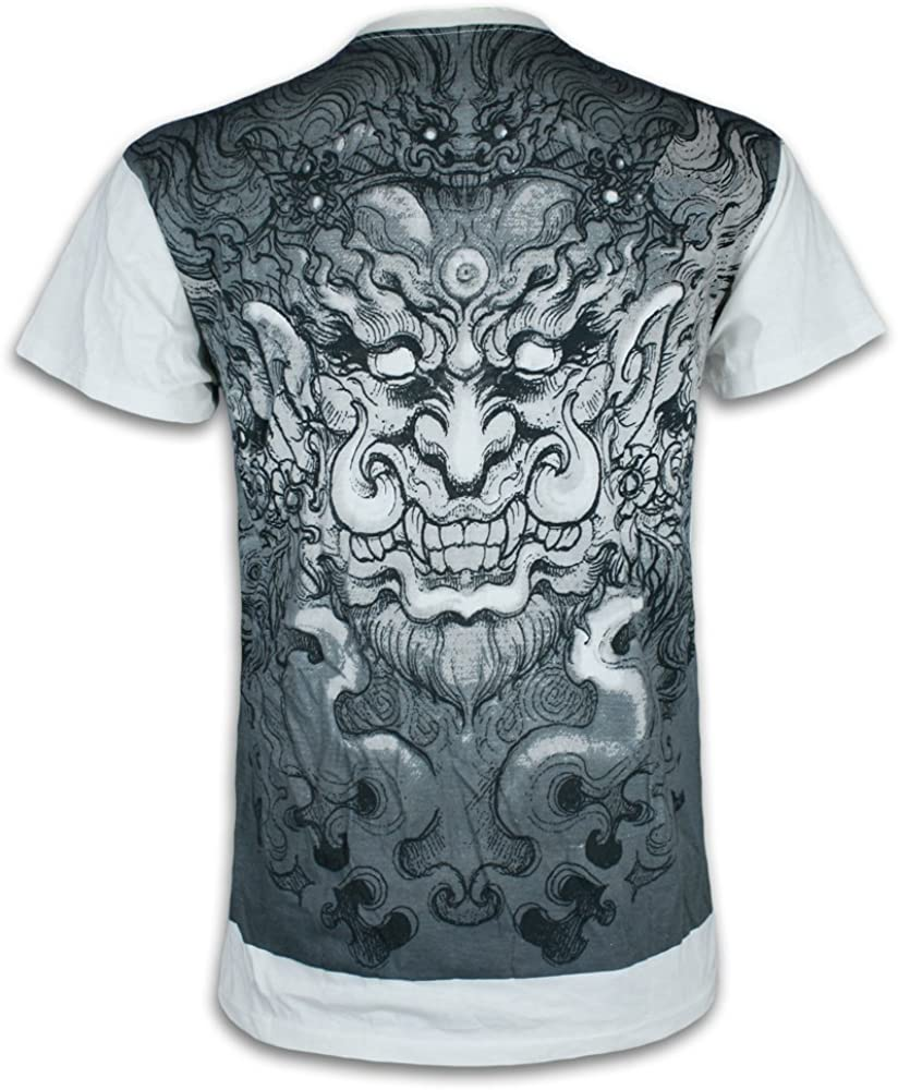 Ako Roshi Camiseta Hombre Acala - Dios del Fuego Talla M L XL ...