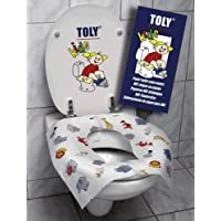 TOLY KIDS Cubreasiento para WC Biodegradable desechable (6