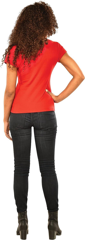 Multi Medium Rubies Marvel Womens Universe Spider-Girl Rhinestone T Shirt
