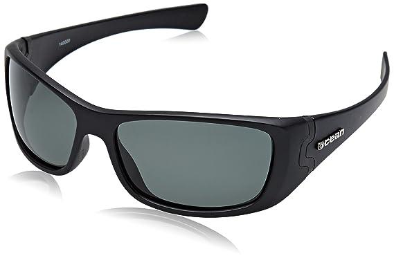 Ocean Sunglasses Sunset Beach - Gafas de Sol polarizadas - Montura : Negro Mate - Lentes