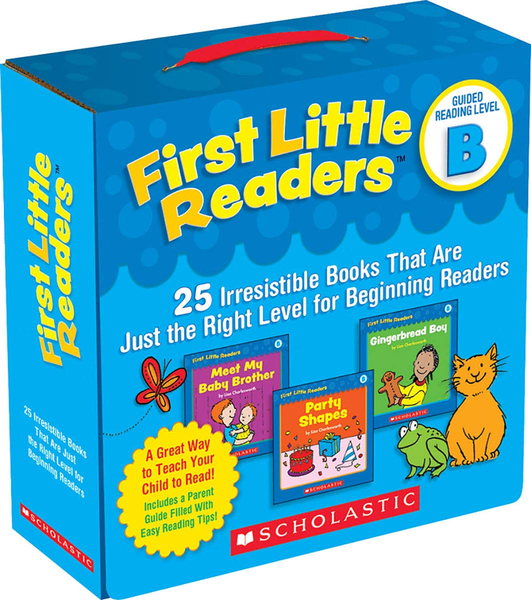 First Little Readers: Guided Reading Level B: 25 Irresistible Books That  Are Just the Right Level for Beginning Readers Guided Reading Pack:  Amazon.co.uk: Liza Charlesworth: Books