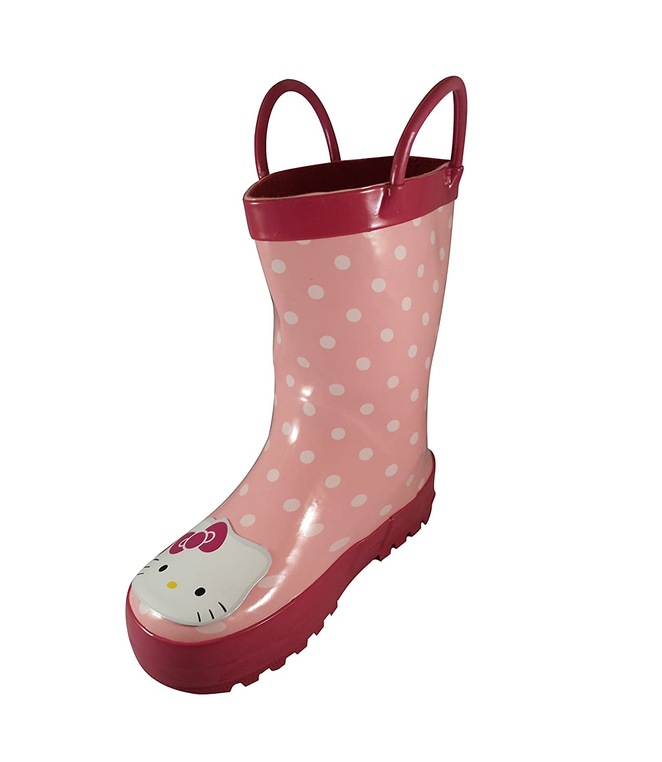 HELLO KITTY POLKA DOT PINK RAIN BOOT (TODDLER/LITTLE KID)